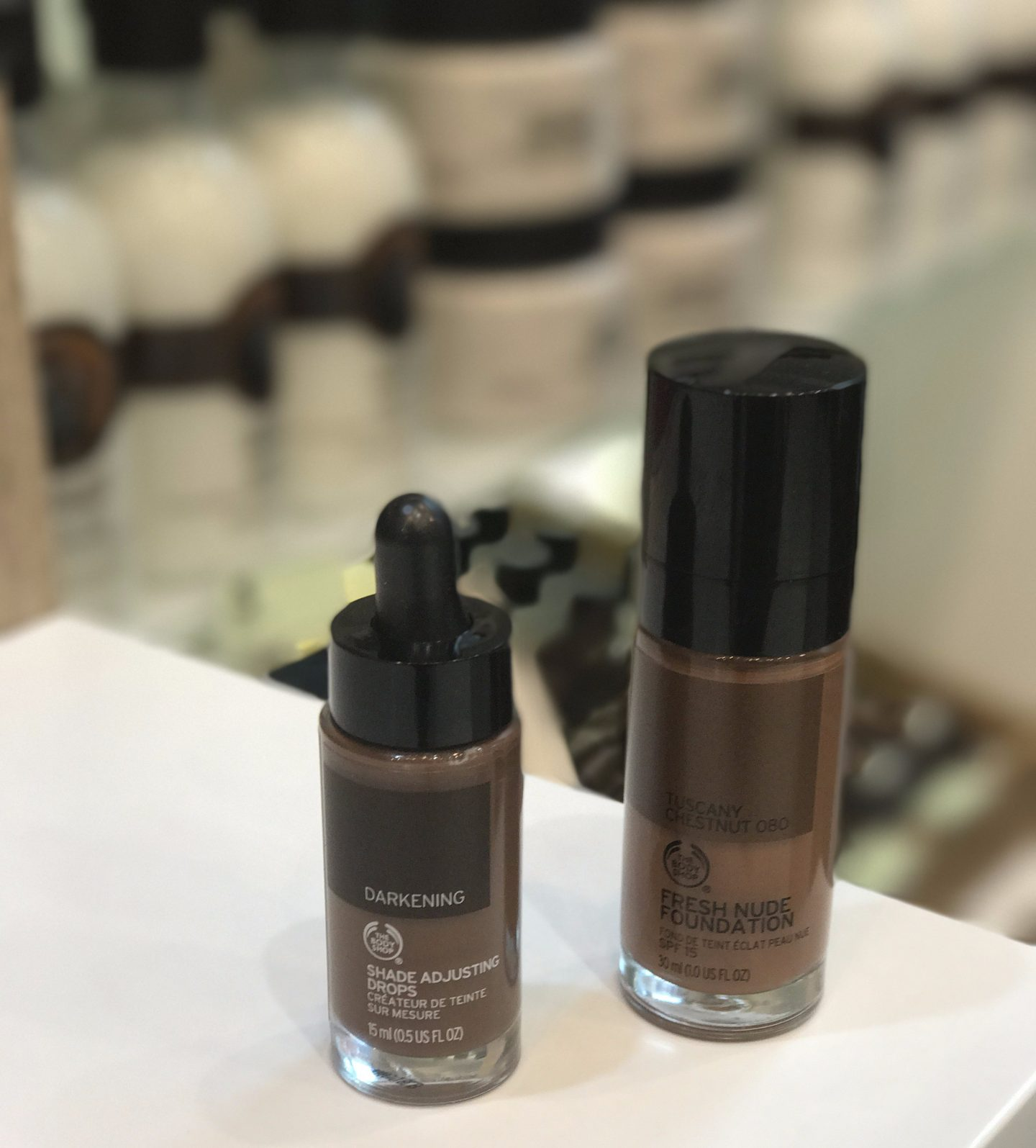 The Body Shop – Fresh Nude Foundation & Shade Adjusting Drops Review